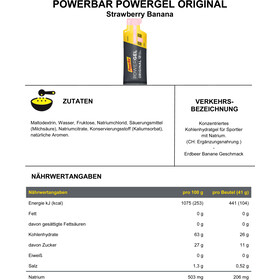 PowerBar PowerGel Original Sacoche 24x41g, Strawberry-Banana
